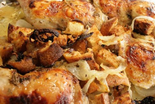 Sheet Pan Roasted Tarragon Chicken