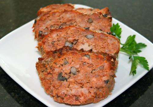 Chef Anna Olsen's Meat Loaf