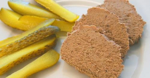 Chicken Liver Mousse Mirabelle