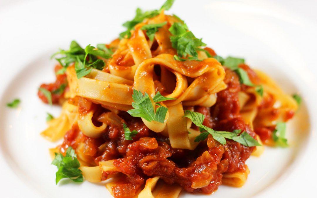 Bloody Mary Linguini