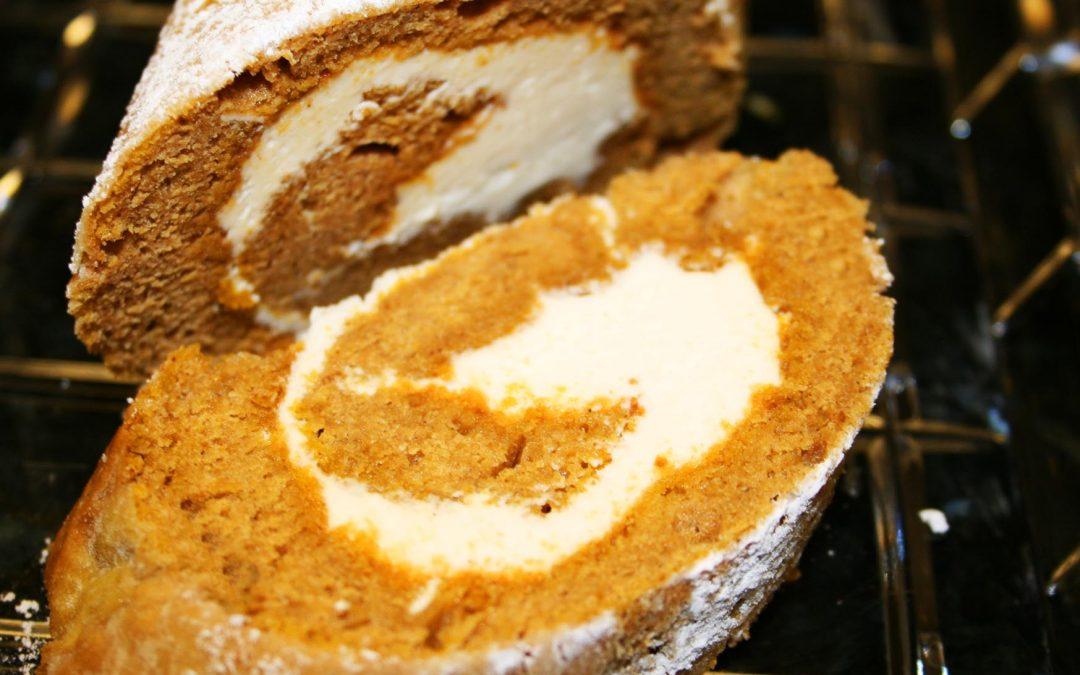 Pumpkin Toffee roll