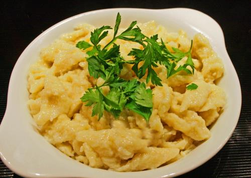 Home Made Spaetzle or Nokedli (no-ked-ly)