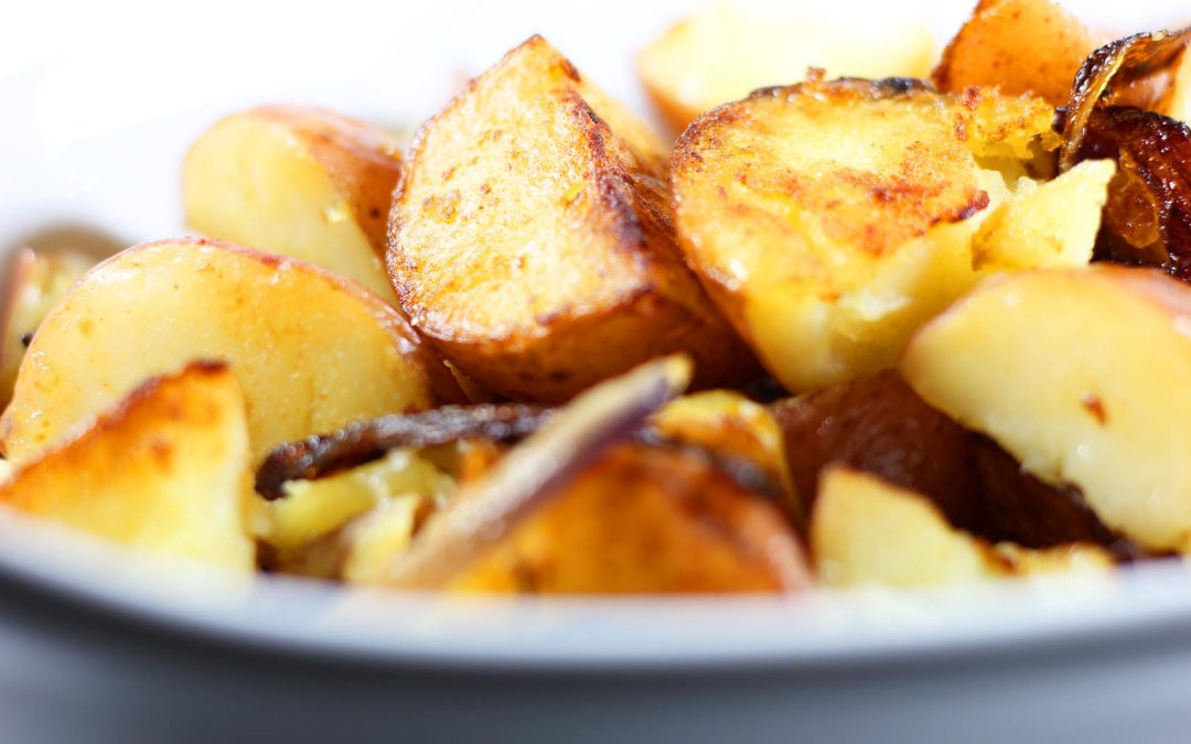 Cook Top Roasted Potatoes