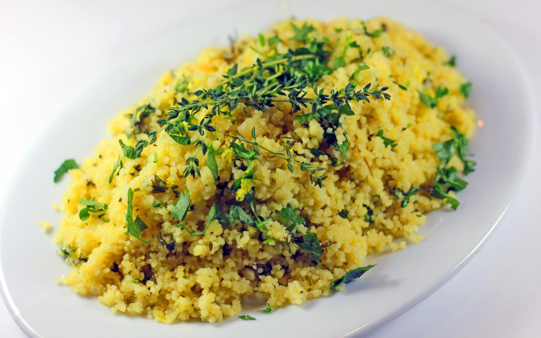 Garlic Lemon Couscous