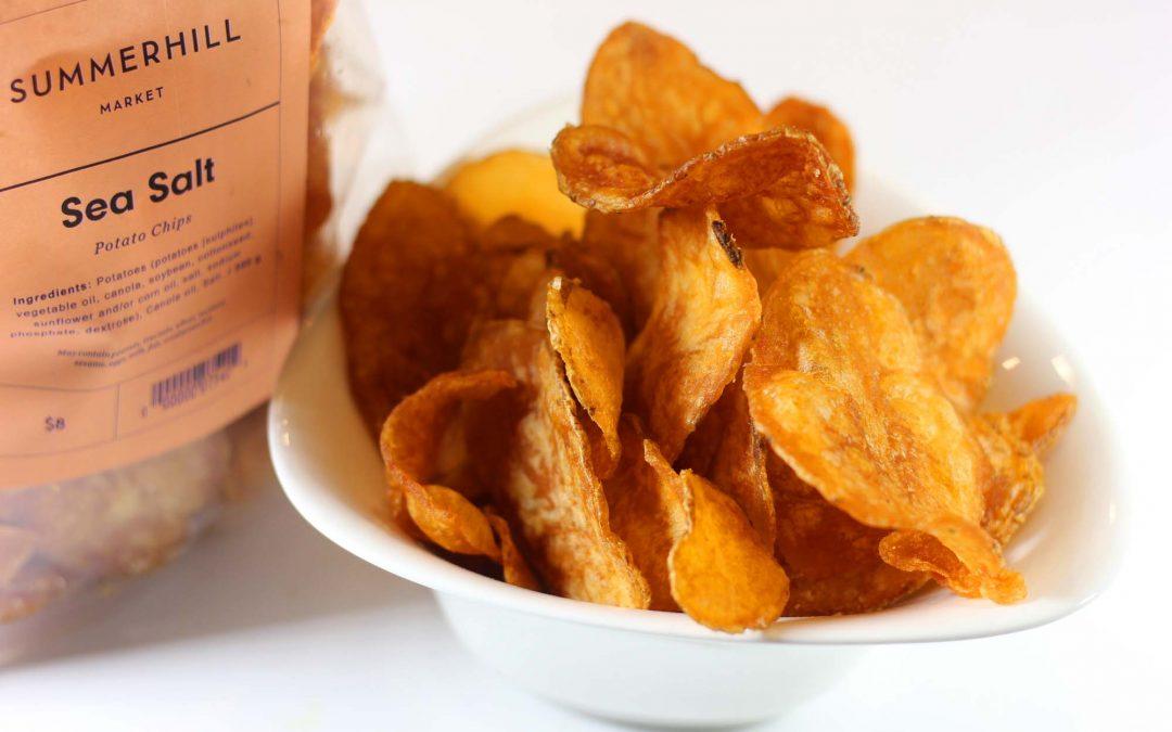 Heavenly Potato Crisps…
