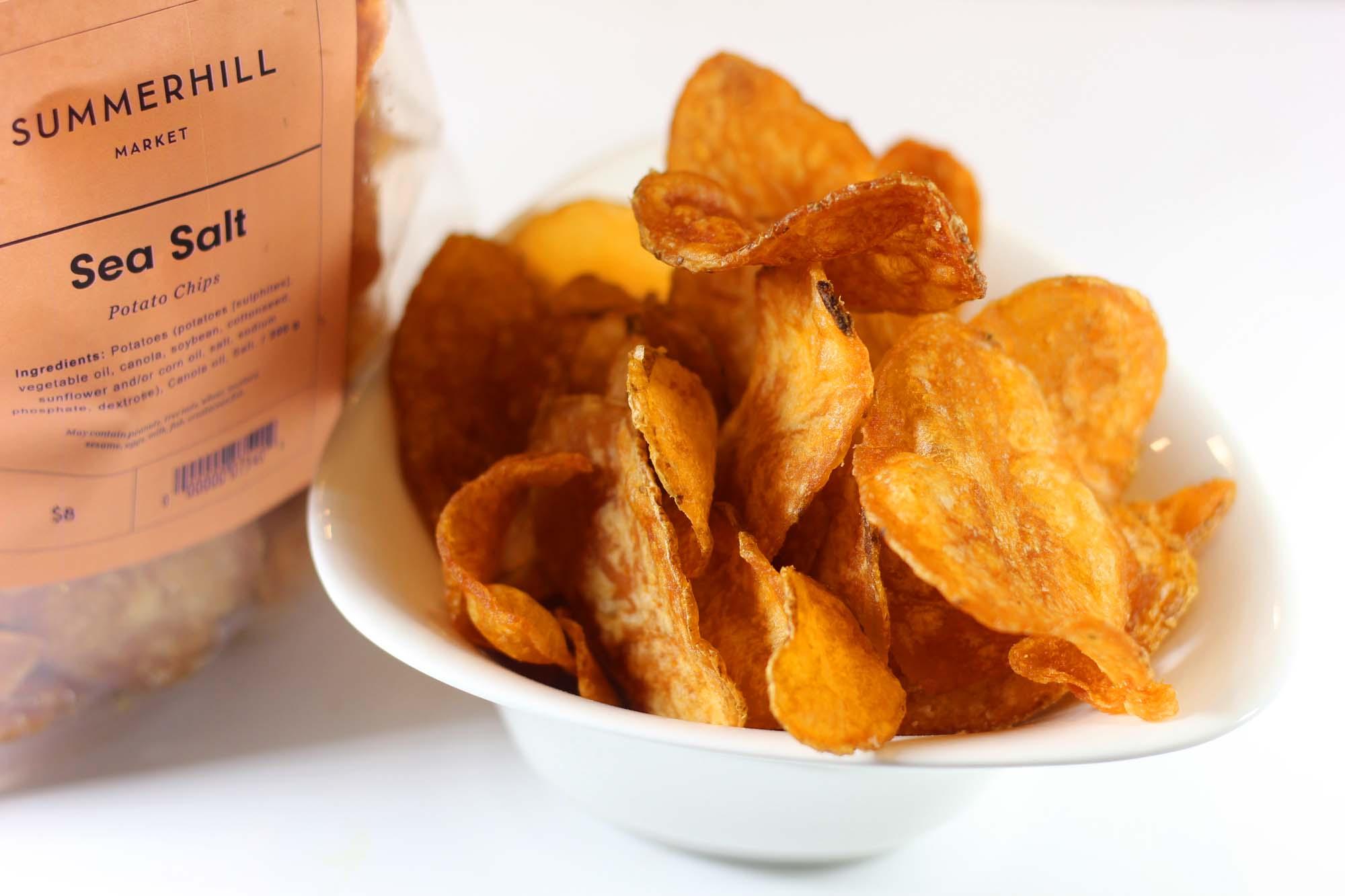 Heavenly Potato Crisps