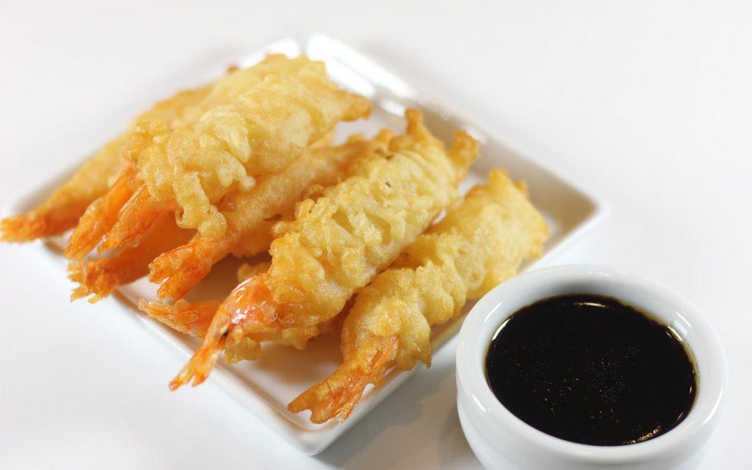 Tempura Shrimp with Hoisin Lime Dipping Sauce
