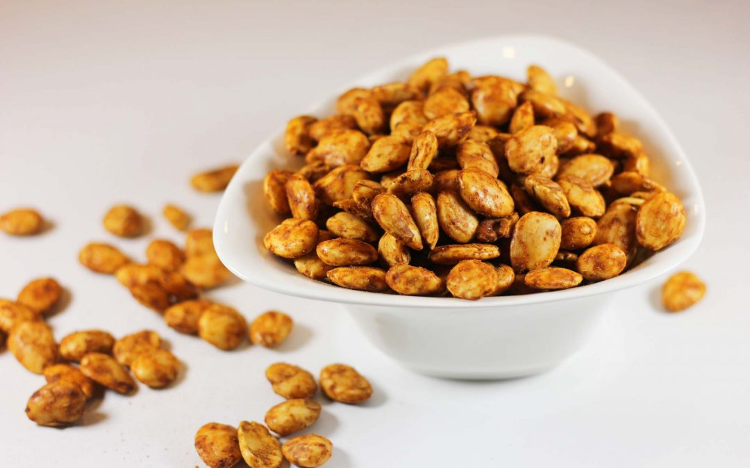 Cumin and Paprika Spiced Marcona Almonds