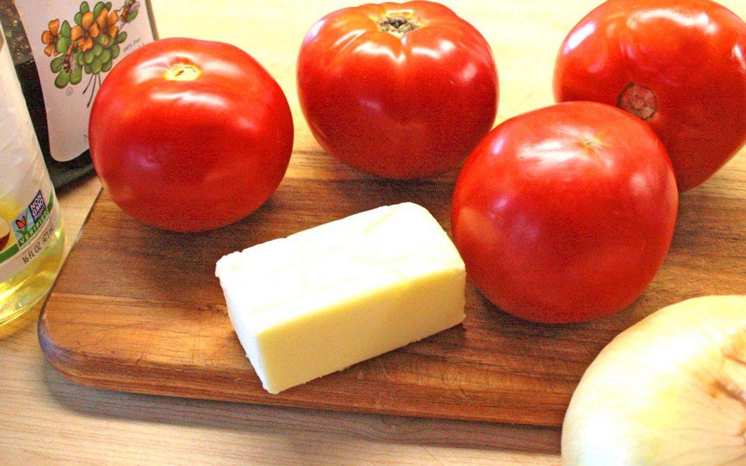 Tomato Tatin…an Amazing Appetizer