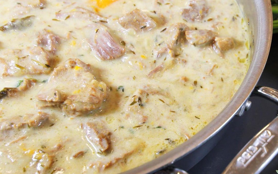 French Veal Stew (Blanquette de Veau)