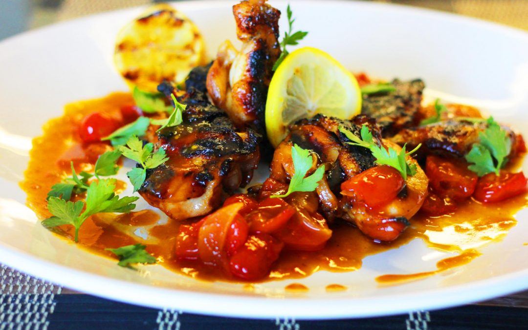 BBQ Grilled Chicken with Heavenly Sauce