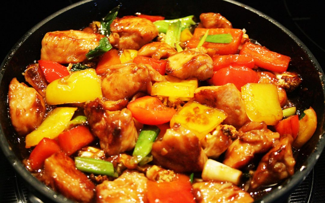 Chicken in Delicious Asian Sauce