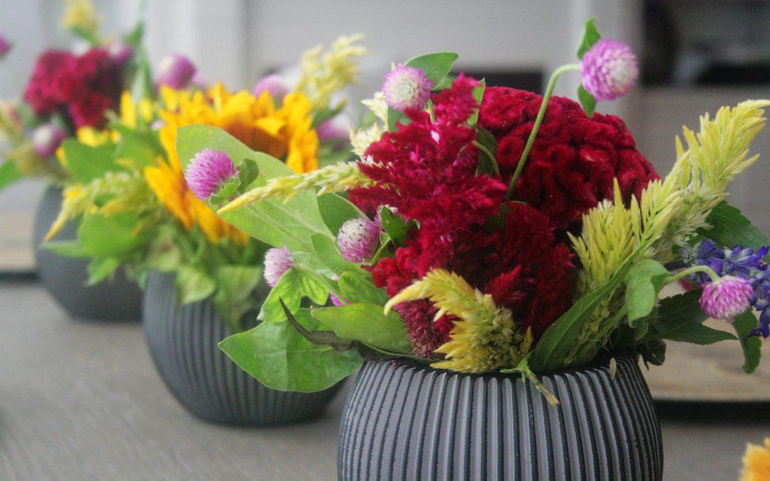 A Bunch of Garden Flowers…